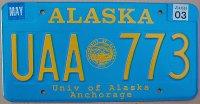 Alaska 2003 university of alaska anchorage