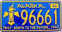 Alaska 1966 totem
