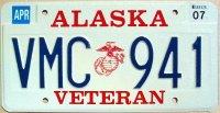 Alaska 2007 marine corps veteran