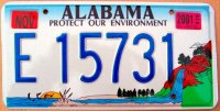 Alabama 2001 protect our environment