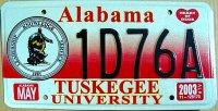 Alabama 2003 tuskegee university