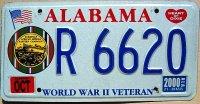 Alabama 2000 world war II veteran