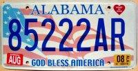 Alabama 2008 god bless america