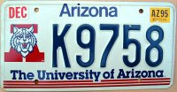 arizona 1995 the university of arizona