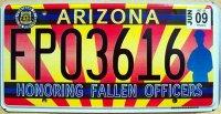 arizona 2009 honoring fallen officers