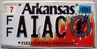 arkansas 2009 firefighters memorial