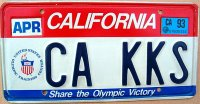 california 1993 share the olympic victory