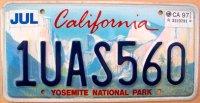 california 1997 yosemite national park