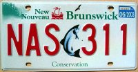 new brunswick 2003 conservation
