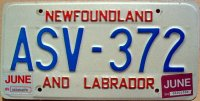 new foundland & labrador 1995