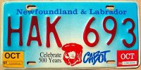 new foundland & labrador 1998 cabot