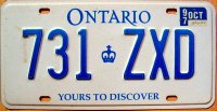 ontario 1997 yours to discover