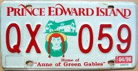 P.E.I. 1996 home of ` Anne of green gables `
