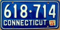 connecticut 1963