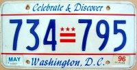 d.c.washington 1996 celebrate & discover