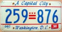 d.c.washington 1990 a capital city