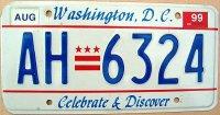d.c.washington 1999 celebrate & discover