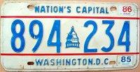 d.c.washington 1985 nation`s capital