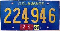 delaware 1963