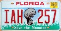 florida 2006 save the manatee