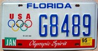 florida 1995 olympic spirit