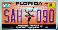 florida 1995 support florida special olympics