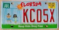 florida 2002 keep kids drug free