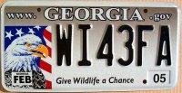 georgia 2005 give wildlife a chance