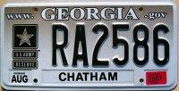 georgia 2007 U.S army reserve