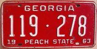 georgia 1963