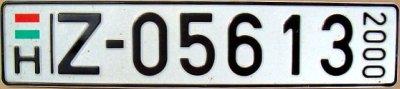 hongrie 2000 export