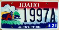 idaho 2001 agriculture
