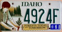 idaho 2001 forests today and tomorrow