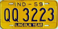 indiana 1959 lincoln year