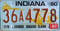 indiana 1980 george rogers clark