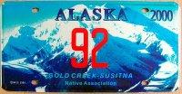 alaska 2000 gold creek-susitna