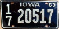 iowa 1963