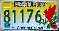 kentucky 1999 nature`s finest.cardinal