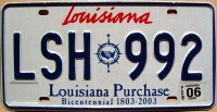 louisiana 2006 bicentennial