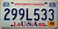 louisiana 1995 sportsman`s paradise