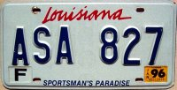 louisiana 1996 sportsman`s paradise