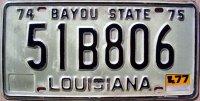 louisiana 1977 bayou state