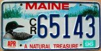 maine 1996 a natural treasure