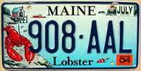 maine 2004 lobster