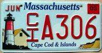 massachusetts 2003 cape cod & islands
