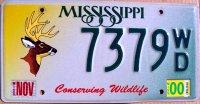 mississippi 2000 conserving wildlife.deer