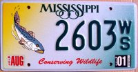 mississippi 2001 conserving wildlife.trout