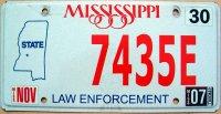 mississippi 2007 law enforcement