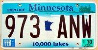 minnesota 2010 10.000 lakes