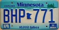 minnesota 1999 10.000 lakes